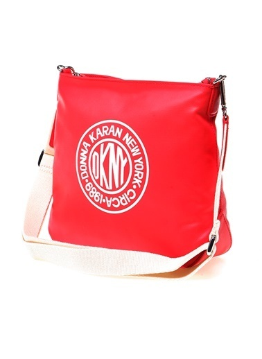 DKNY Baskılı Çanta Kırmızı